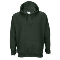Gildan Team 50/50 Fleece Hoodie - Men's - Dark Green / Dark Green