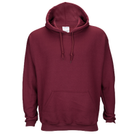Gildan Team 50/50 Fleece Hoodie - Men's - Maroon / Maroon