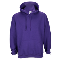 Gildan Team 50/50 Fleece Hoodie - Men's - Purple / Purple