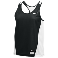 Nike Team Reversible Mesh Tank Pinnie - Women's - Black / White