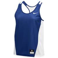 Nike Team Reversible Mesh Tank Pinnie - Women's - Blue / White