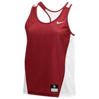 Nike Team Reversible Mesh Tank Pinnie - Women's - Red / White