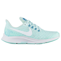 Nike Air Zoom Pegasus 35 - Girls' Grade School - Aqua / White