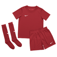 Nike Team Dry Park Kit Set - Boys' Grade School - Red / White