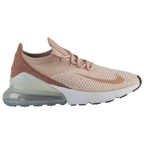 nike air max 270 flyknit women 39 s casual shoes guava ice particle beige desert dust white. Black Bedroom Furniture Sets. Home Design Ideas