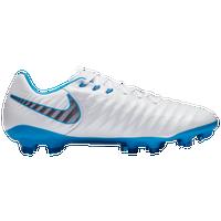 first rate 63a9f 246b5 Nike Tiempo Legend 7 Pro FG - Men's - White / Light Blue