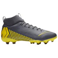 Nike Mercurial Superfly 6 Academy MG - Boys' Grade School - Grey / Yellow