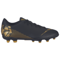 Nike Mercurial Vapor 12 Club MG - Boys' Grade School - Black / Gold