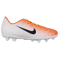 Nike Mercurial Vapor 12 Club MG - Boys' Grade School - White / Orange