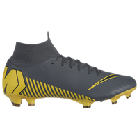 Nike Mercurial Superfly 6 Pro FG - Men's - Grey / Yellow