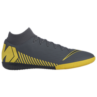 Nike Mercurial SuperflyX 6 Academy TF - Men's - Grey / Yellow