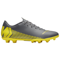 Nike Mercurial Vapor 12 Club MG - Men's - Grey / Yellow