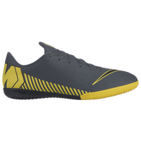 Nike Mercurial VaporX 12 Academy IC - Men's - Grey / Yellow