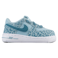 Nike Air Force 1 Low - Girls' Toddler - Light Blue / Aqua