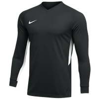 Nike Team Dry Tiempo Premier L/S Jersey - Men's - Black / White