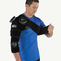 Ice20 Combo Arm Ice Compression Wrap - Black / Black