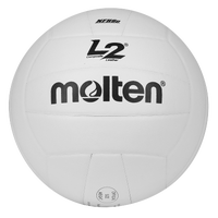 Molten Team Composite NFHS Practice Volleyball - White / Black