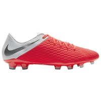 Nike Hypervenom Phantom 3 Academy FG - Men's - Red / Grey