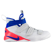 Nike LeBron Soldier XI SFG - Boys' Grade School -  Lebron James - White / Blue