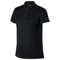 Nike Dri-FIT Blade Golf Polo - Women's - All Black / Black