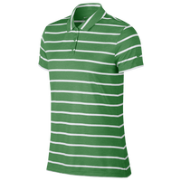 Nike Dri-FIT Dry Stripe Golf Polo - Women's - Green