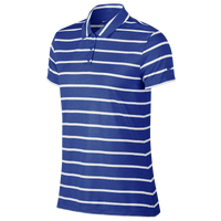 Nike Dri-FIT Dry Stripe Golf Polo - Women's - Blue