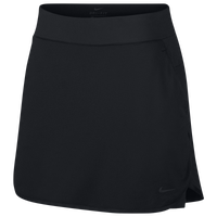 "Nike Dri-FIT 17"" Golf Skirt - Women's - All Black / Black"
