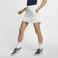 "Nike Dri-FIT 17"" Golf Skirt - Women's - All White / White"