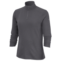 b306ea9859 Nike Dri-FIT UV 1 4 Zip Golf Top - Women s - Grey