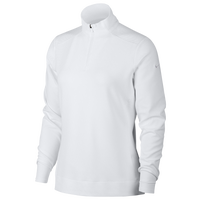 Nike Dri-FIT UV 1/4 Zip Golf Top - Women's - All White / White