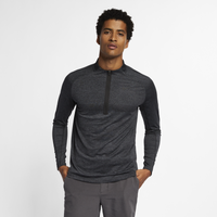 Nike Dry Top Statement Golf 1/2 Zip - Men's - Grey / Black