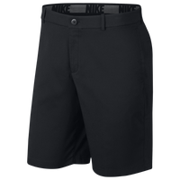 Nike Core Flex Golf Shorts - Men's - All Black / Black