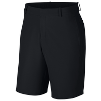 Nike Hybrid Flex Golf Shorts - Men's - All Black / Black