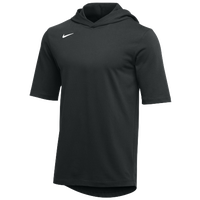 Nike Team Hooded Player T-Shirt - Men's - Black / White