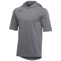 Nike Team Hooded Player T-Shirt - Men's - Grey / Black
