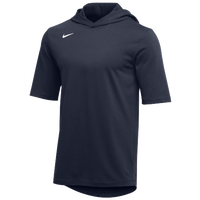 Nike Team Hooded Player T-Shirt - Men's - Navy / White