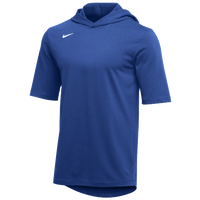 Nike Team Hooded Player T-Shirt - Men's - Blue / White