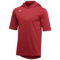 Nike Team Hooded Player T-Shirt - Men's - Red / White