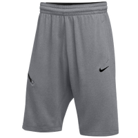 Nike Team Hangtime Shorts - Men's - Grey / Black