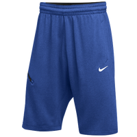 Nike Team Hangtime Shorts - Men's - Blue / Black