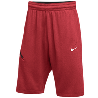 Nike Team Hangtime Shorts - Men's - Red / Black