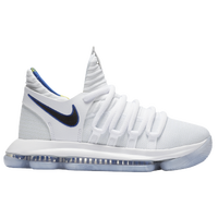 4e6a57630111 Nike KD X - Boys  Grade School - Kevin Durant - White   Blue