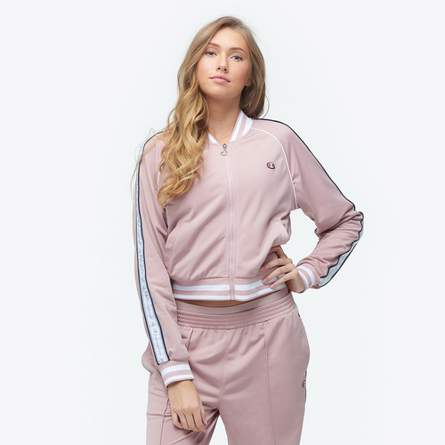 Champion Track Jacket - Women's Casual - Pink JL818549