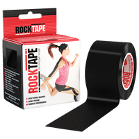 Rock Tape Kinesiolgy Tape - All Black / Black