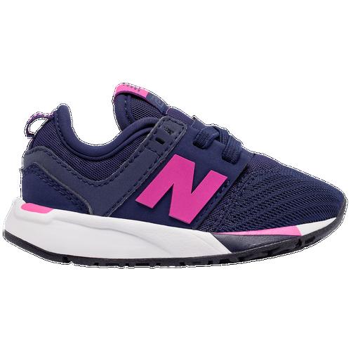 Girls Preschool New Balance  Casual Running Shoes