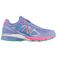 New Balance 990 - Girls' Grade School - Purple / Pink
