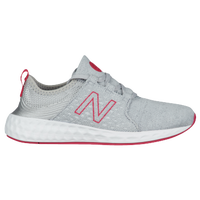 New Balance Cruz - Girls' Grade School - Silver / Pink