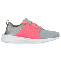 New Balance Cruz - Girls' Grade School - Grey / Pink