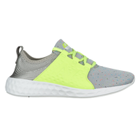 New Balance Cruz - Girls' Grade School - Grey / Light Green
