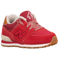 finest selection 5adcc 54aad New Balance 574 - Boys  Toddler - Red   Tan